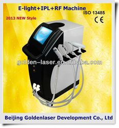 www.golden-laser.org/2013 New style E-light+IPL+RF machine ipl hair treatments for damaged hair