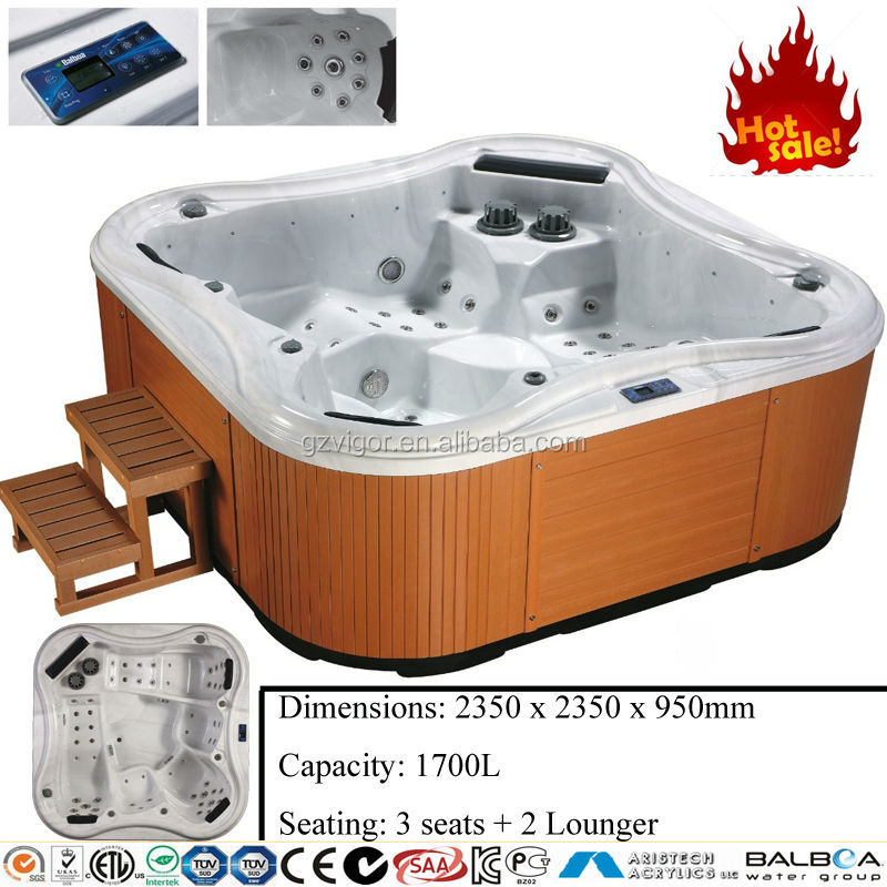 5 person outdoor whirlpool spa world best selling products personal massager hot tub