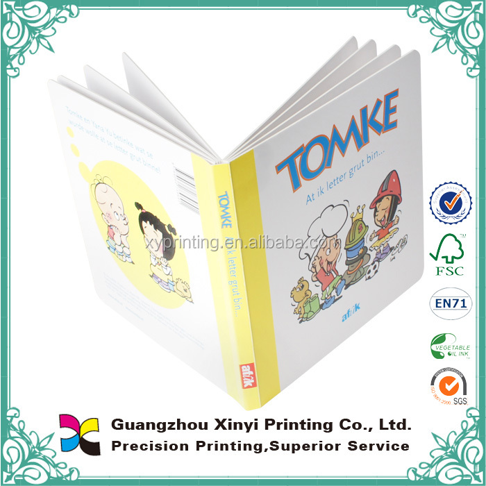 2015 hotest and high class kids english story cardboard book,professional child book printing service in china