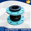 "3""double ball water pump rubber jointing solution flexible joints rubber"