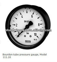 Germany Wika bourdon tube pressure gauge, Model 111.16