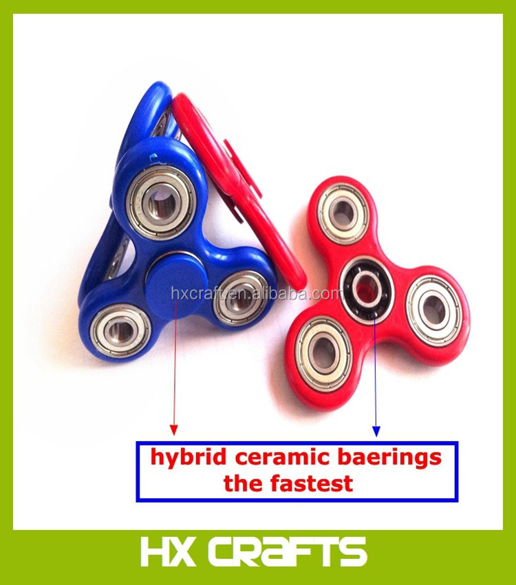 Hot Sales New Premium Hybrid Ceramic Bearing Tri-Spinner Fidget Finger Hand Spinner