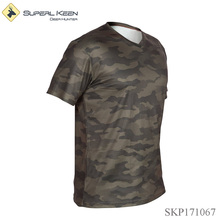 Camouflage Lightweight Breathable Hunting T Shirt