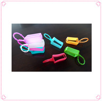 silicone perfume cover,30ml silicone hand sanitizer holder