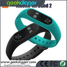 2016 New Arrival Mi Band 2 miband 2 Smartband OLED display touchpad heart rate monitor Bluetooth 4.0 fitness tracker