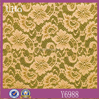 2016 lasted design lace fabric fashion material for cloth