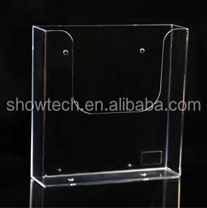 Transparent plastic a4 a3 a5 brochure leaflet holder wall mounted,plexiglass pamphlet rack,acrylic booklet holder