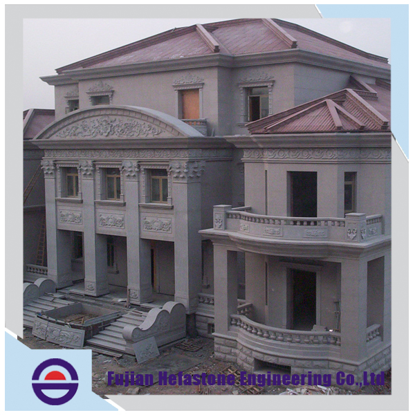 Oversea Building Worthy Large Scale Magnificent High Quality Stone Civil Engineering Construction Project