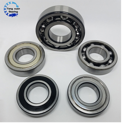 High quality deep groove ball bearing 6301ZZ 6301-2RS 6301