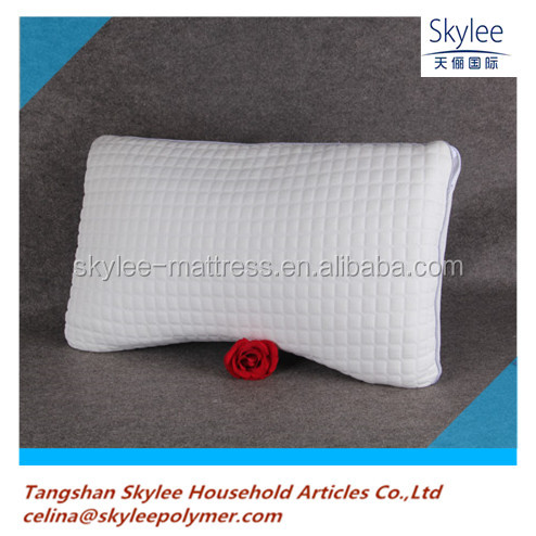High polymer easy washed pillow with hole
