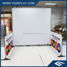 Aluminum pipe and drape stage backdrop for wedding party