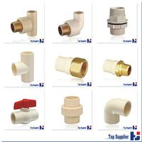 aluminum compression popular plastic all size pipe fitting