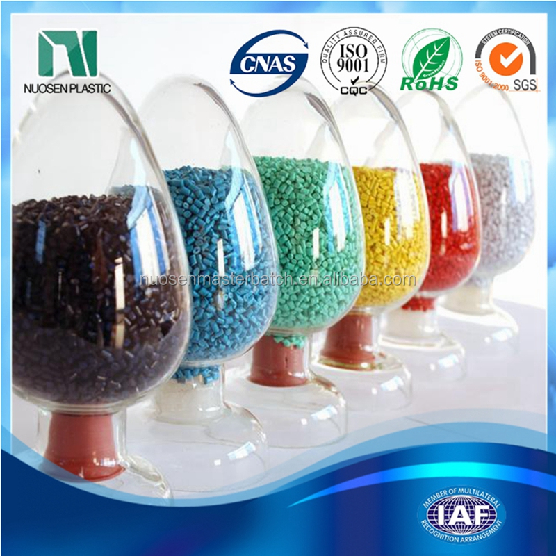 food grade abs plastic pellets green color masterbatch for mould