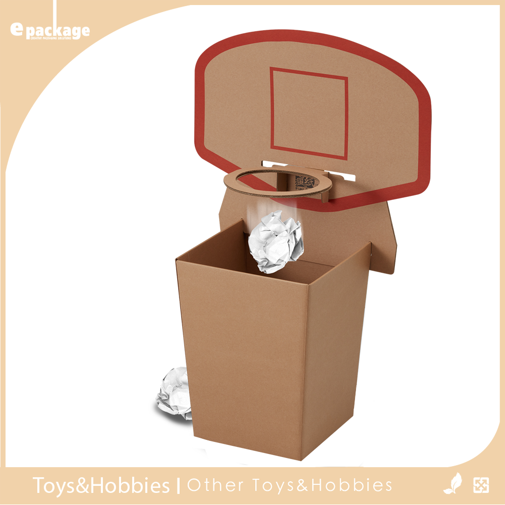 Basketball Board Style Paper Storage Mini Novelty Trash Can