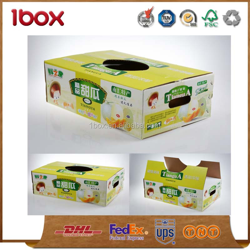 for sale custom fruit box carton