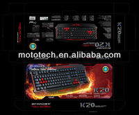 2016 Hot Sale Gaming Keyboard Mouse Combo