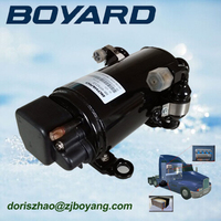 r134a zhejiang boyard brushless 12v dc inverter air conditioner compressor auto ac compressor for air conditioner solar