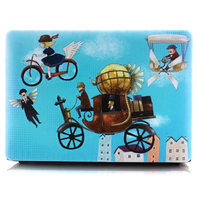 best quality mouse flower animal printed custom laptop shell case for macbook pro retina13 our story begins paper notebook
