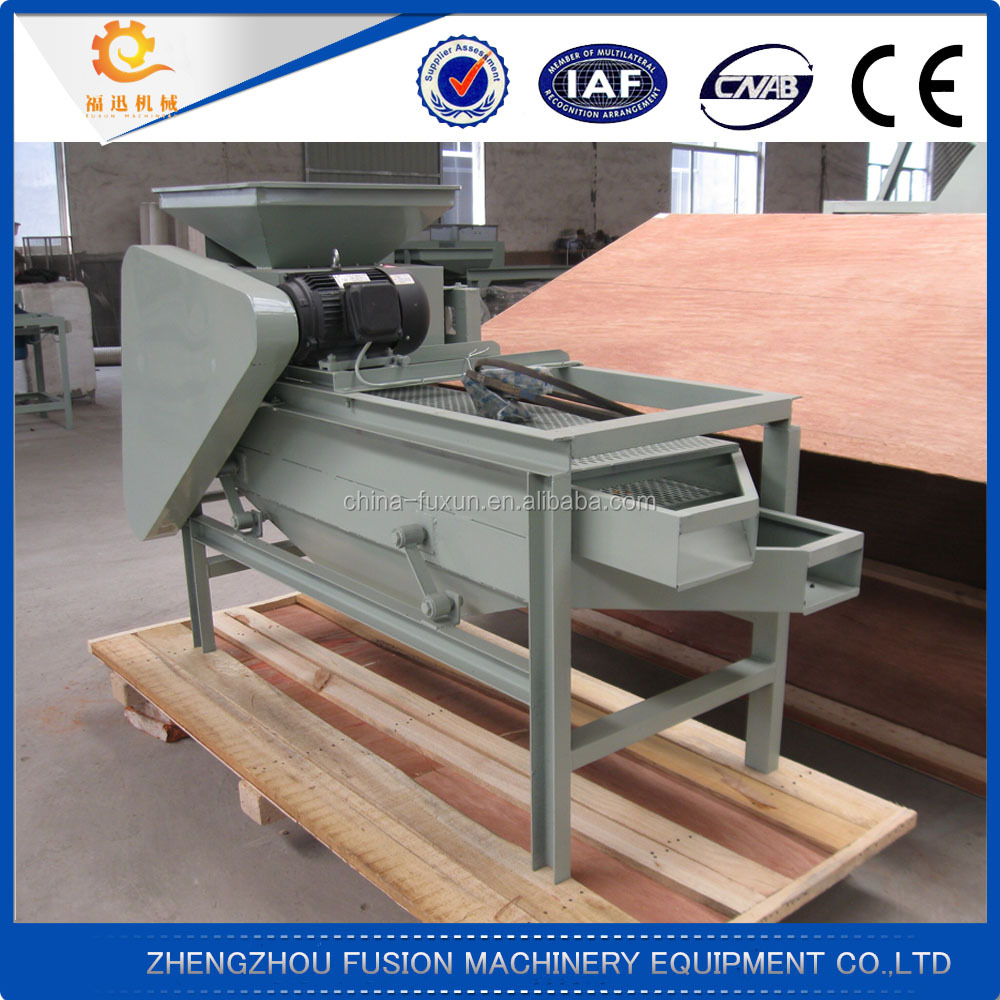 High efficiency almond and hazelnut walnut sheller