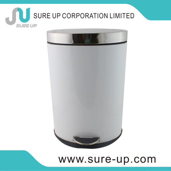 European metal garbage cans wheels(DSUD005P)