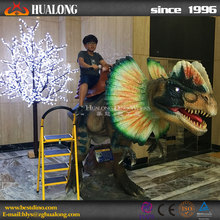 simulation mechanical walking dinosaur ride