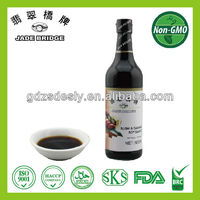 High quality permented Sashimi & Sushi Soya Sauce factory Cooking sauces