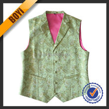 Fashion 100% Polyester Cheap Uniform Vests For Mens