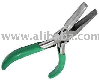 Flat and half-round bending pliers