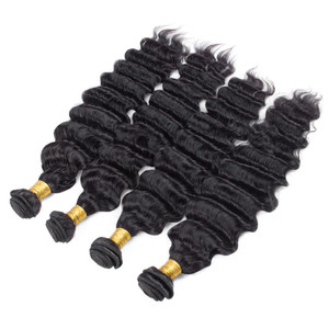 100% virgin brazilian weft loose body wave human hair extensions