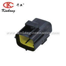 8 pin male waterproof TE Econoseal J Series automotive wire connector 174984-2