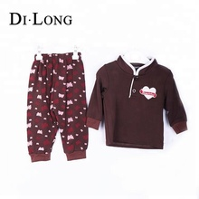 Fashion Kids Clothing Sets Baby Clothes Long Sleeve Pants 2Pc Children Suit