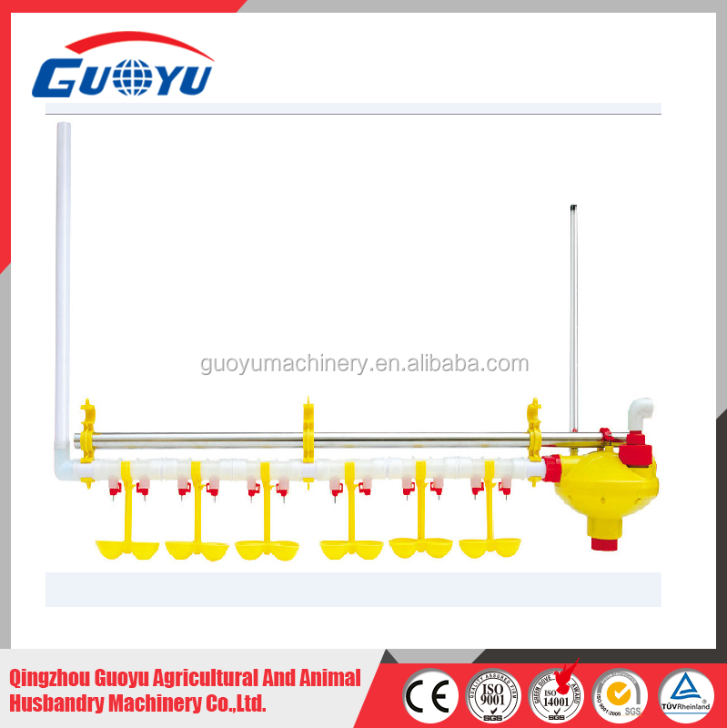 2016 Hot Sale Poultry Equipments of Nipple Drinking Line