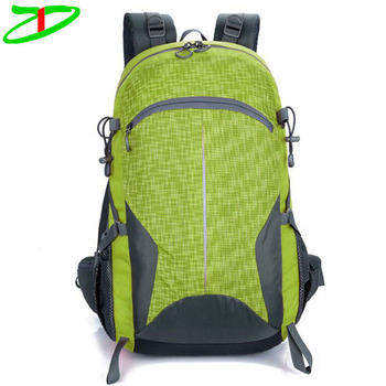 Outdoor leisure sports hiking climbing backpacks waterproof mountaineering bags trekking bag