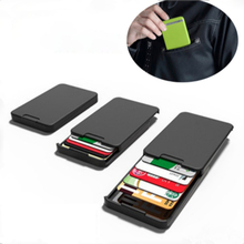 MINIMALIST INGENIOUS <strong>WALLET</strong> WITH RFID-BLOCKING Card Money Holder Pocket