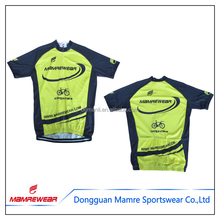 Mamre yellow cycling jersey,sublimation custom cycling apparel,bicycle clothing and bike wear