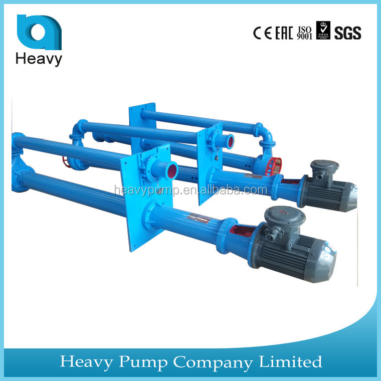 YZS vertical submersible slurry pump with electric motor