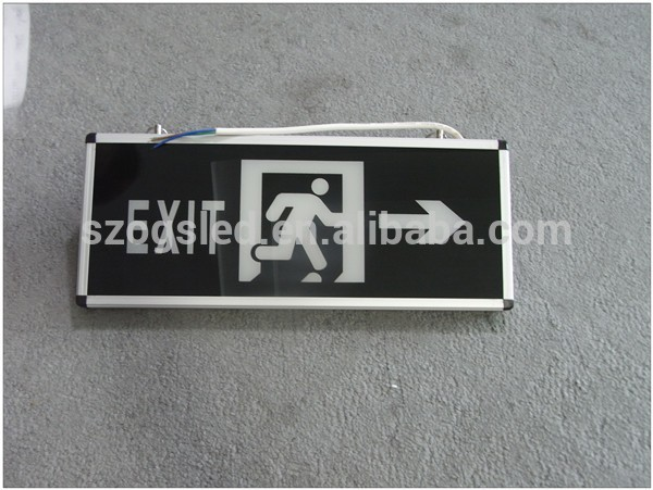 Led exit emergency lighting,emergency exit,emergency exit sign board