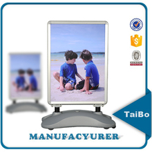 advertising a frame sign, free standing poster board, outdoor poster stand