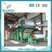 High quality toilet paper machine/napkin paper machine/facial tissue paper machine with Wanqi professional manufacturer