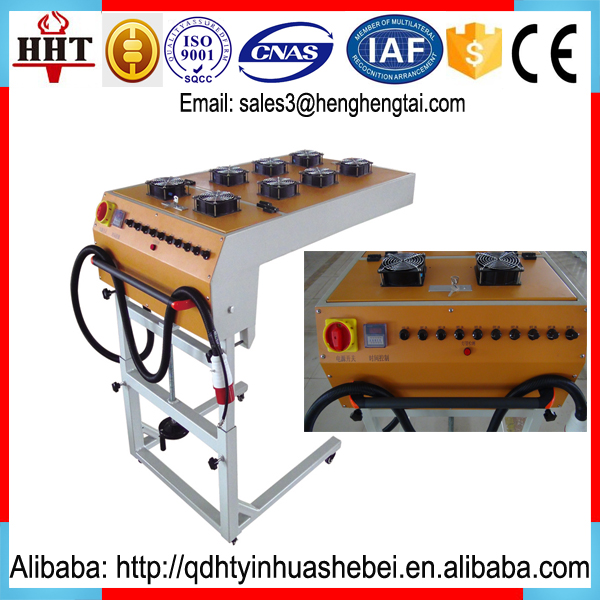 IR lamps Vertical screen printing t shirts flash dryer