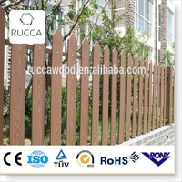 2016 WPC wood Garden swimming pool fence wood gate from Foshan China factory directly sale