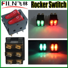 ac kcd4 120v rocker switch with neon