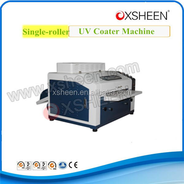 High technology standard UV varnish embossing machine