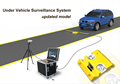 high precision portable under vehicle inspection system UVIS price