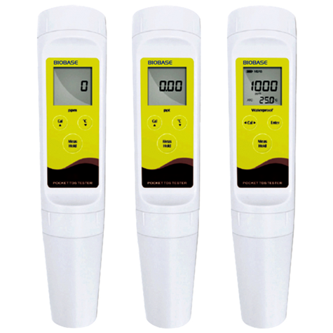High Quality Pocket pH Tester with Standard pH Electrode