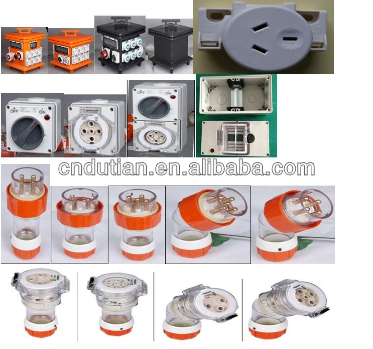 IP66 500V 50A electrical industrial rotary waterproof outdoor switch