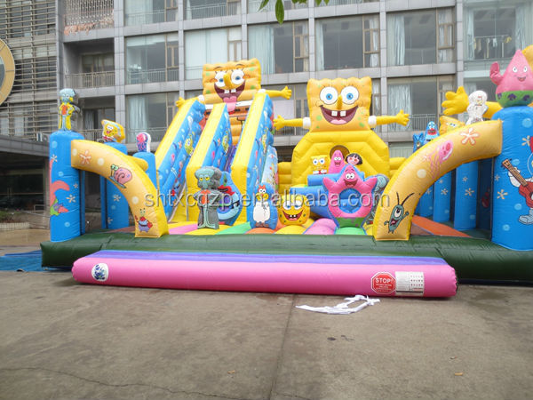 inflatable indoor playground on sale