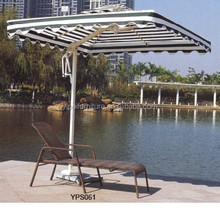 Corrientes forest cloth aluminum sun lounger YPS061
