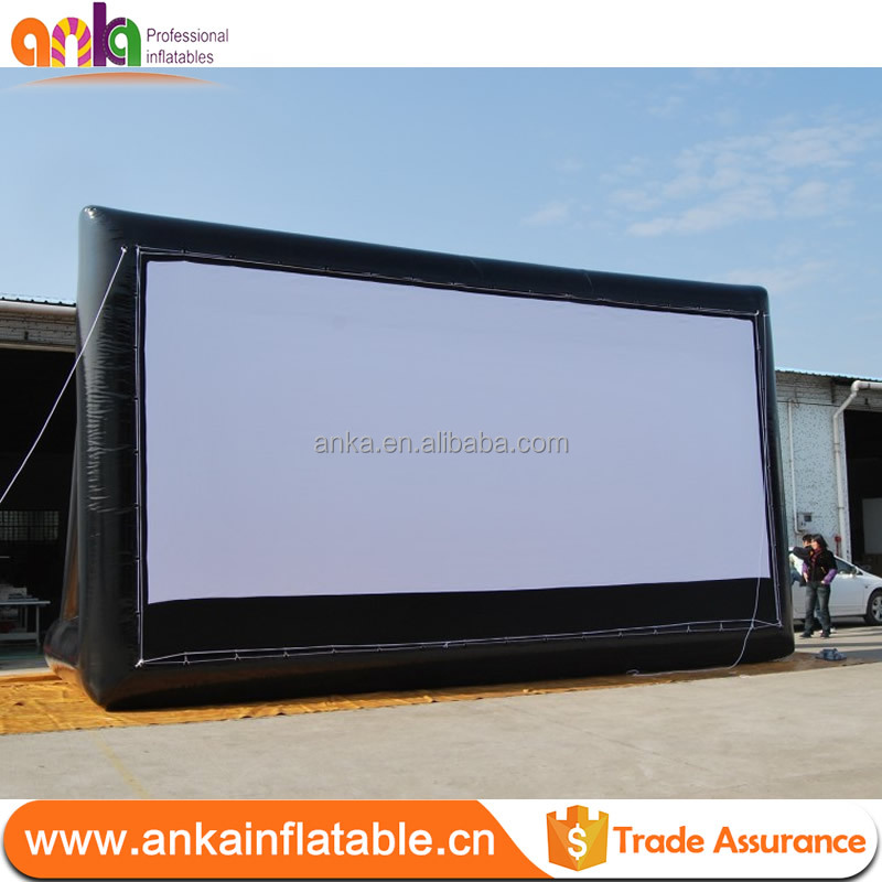 Outdoor inflatable video screen / inflatable Movie Screen / Inflatable Projector Screens