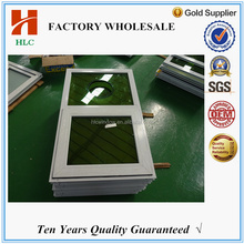 green reflective glass top hung ventilation glass window